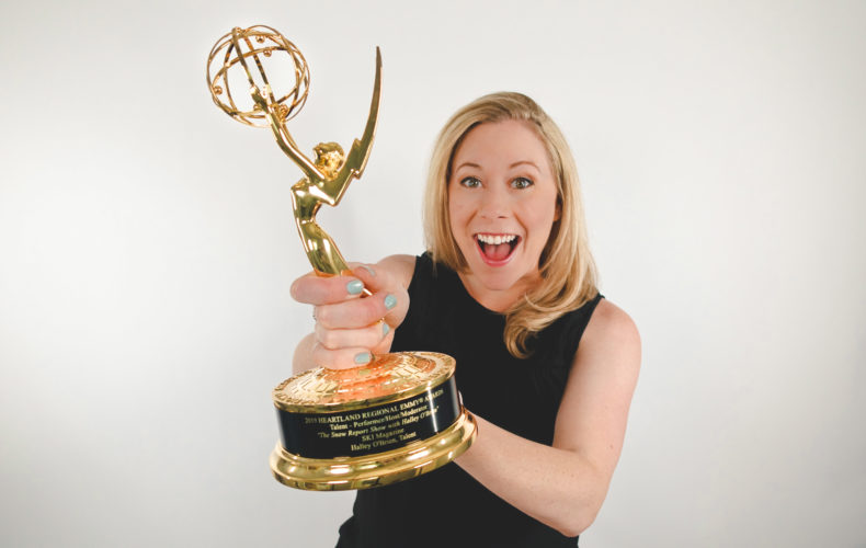 Halley O'Brien Wins First Emmy Award
